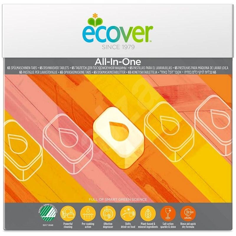 ECOVER All in One, 65 db - Öko mosogatógép tabletta