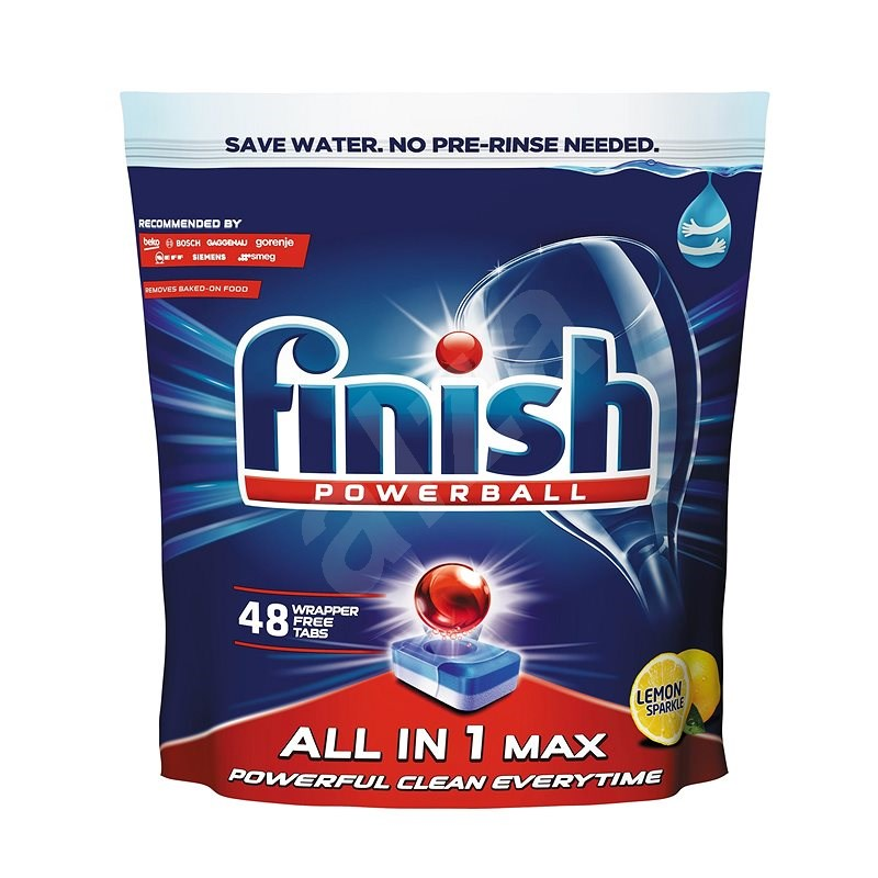 FINISH All in 1 Max Lemon 48 db - Mosogatógép tabletta