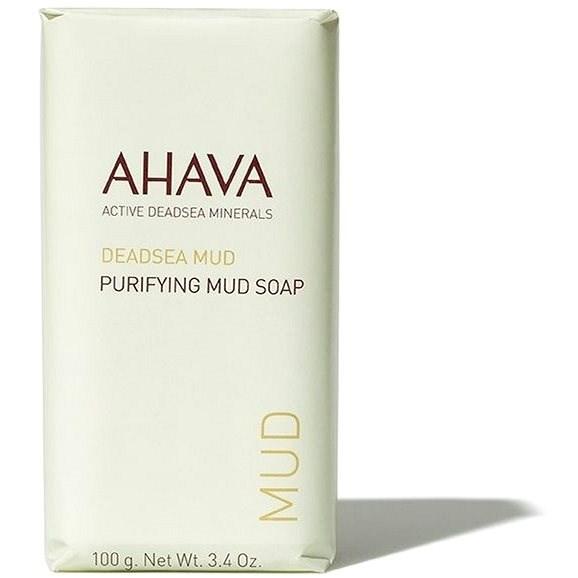 AHAVA Dead Sea Mud Purifying Mud Soap 100 g - Tisztító szappan