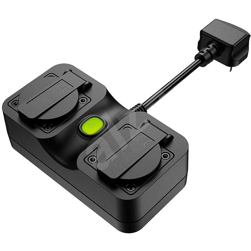 Meross Smart WiFi Outdoor Plug 2 AC Ports - Okos dugalj
