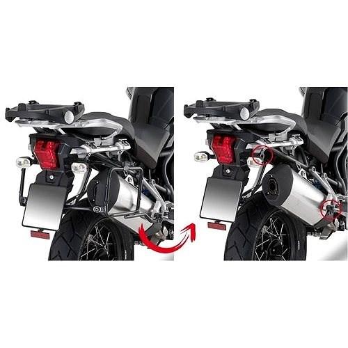 KAPPA KLR6408 oldaldoboz tartó TRIUMPH Tiger motorkerékpárhoz - Oldaldoboz tartók