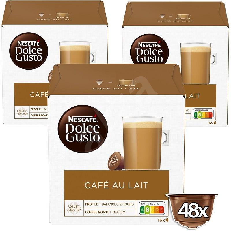 NESCAFÉ Dolce Gusto Café Au Lait, 3 csomag - Kávékapszula