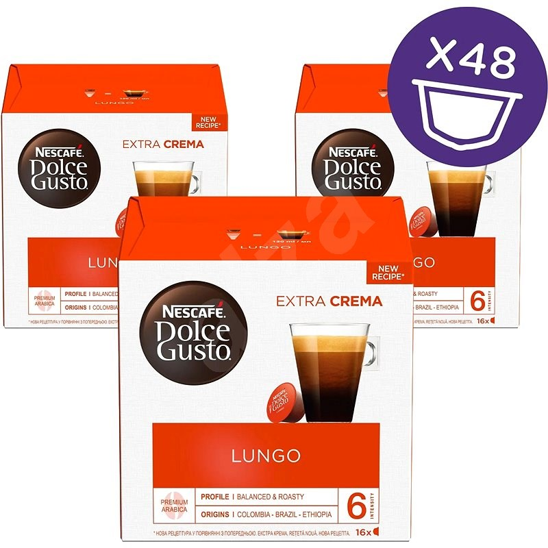 NESCAFÉ Dolce Gusto Caffe Lungo 3 csomag - Kávékapszula