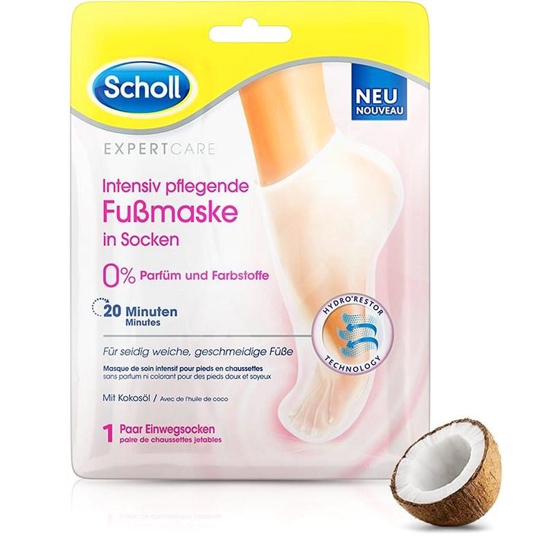 SCHOLL PediMask™ Expert Care Coconut Oil, 1 pár - Maszk