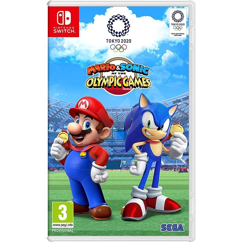 Mario & Sonic at the Olympic Games Tokyo 2020 - Nintendo Switch - Konzol játék