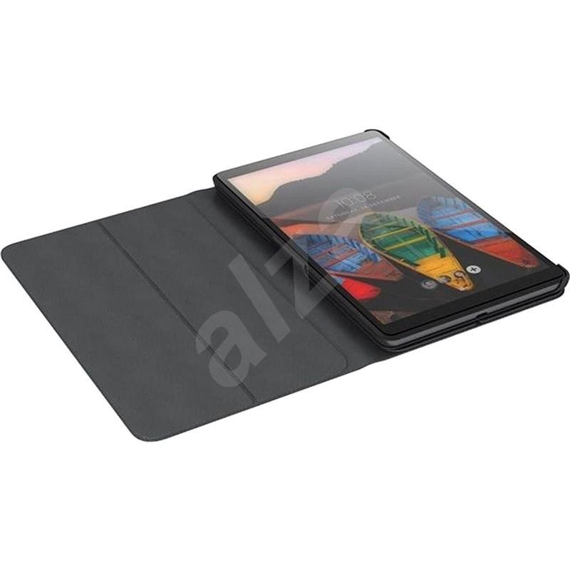 Lenovo TAB M8 HD Folio Case - fekete - Tablet tok