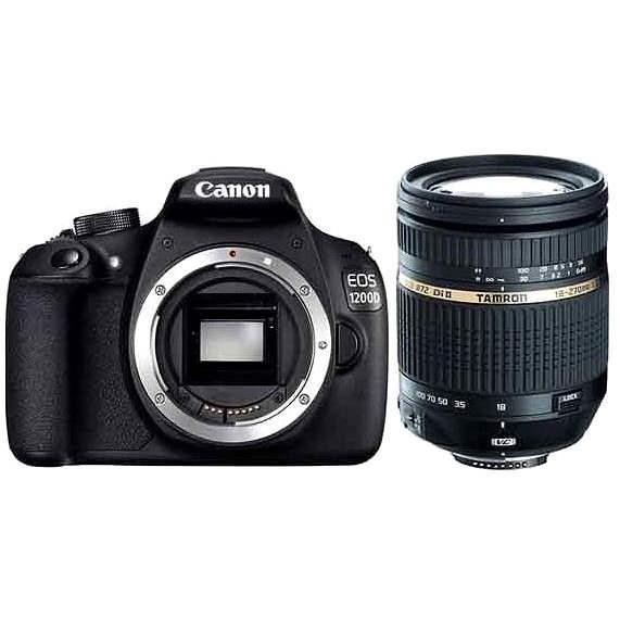 Canon EOS 1300D váz + Tamron 18-270mm F/3.5-6.3 - Digitális fényképezőgép