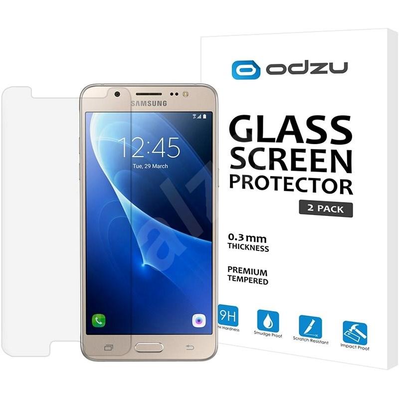 Odzu Glass Screen Protector 2 db Samsung Galaxy J5 2016 - Képernyővédő