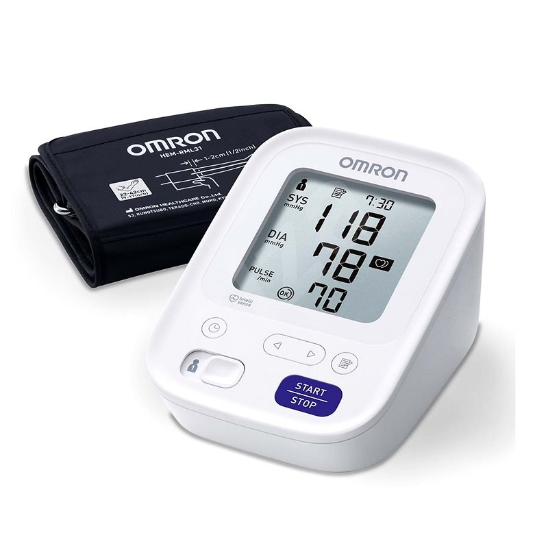 OMRON M3 Easy - Vérnyomásmérő
