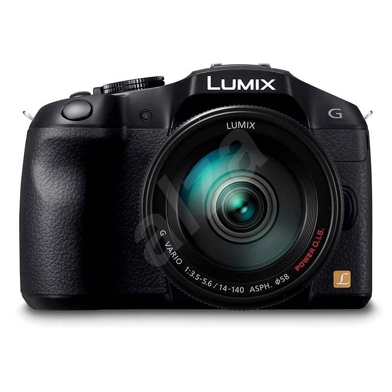 Panasonic LUMIX DMC-G6 fekete + 14-140 mm-es objektív - Digitális fényképezőgép