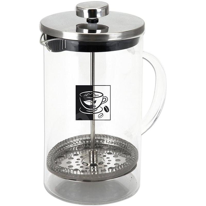 ORION üveg / rozsdamentes kávéskancsó 0.35 l - Dugattyús kávéfőző