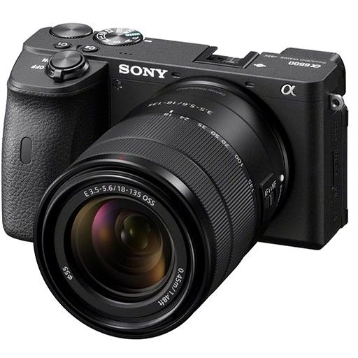 Sony Alpha A6600 fekete színű + 18-135 mm OSS SEL - Digitális fényképezőgép
