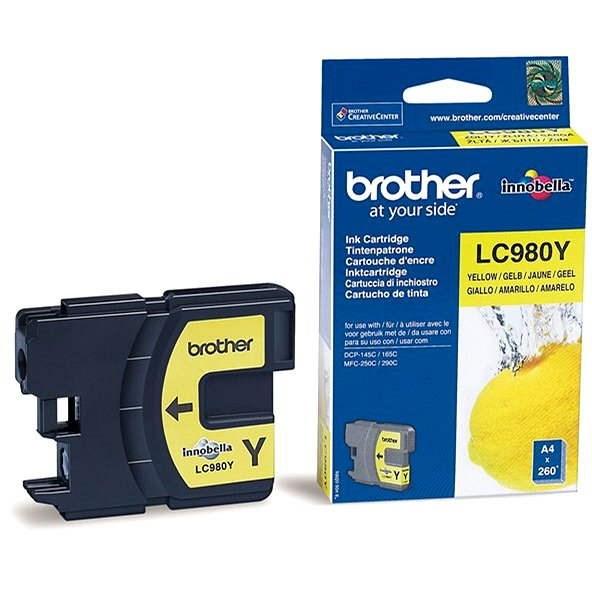 Brother LC-980Y sárga - Tintapatron