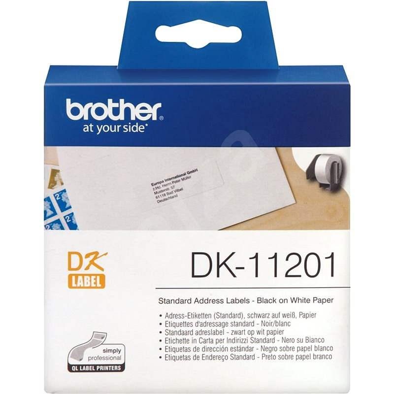 BROTHER DK-11201 etikett - Papírcímke