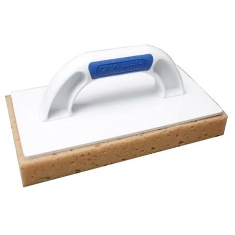 KUBALA műanyag vakolókanál 280x140 mm, habszivacs - Vakolat simító