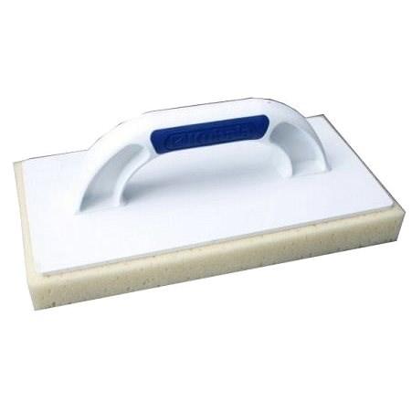 KUBALA műanyag vakolókanál 280x140mm, abszorbens hab - Vakolat simító