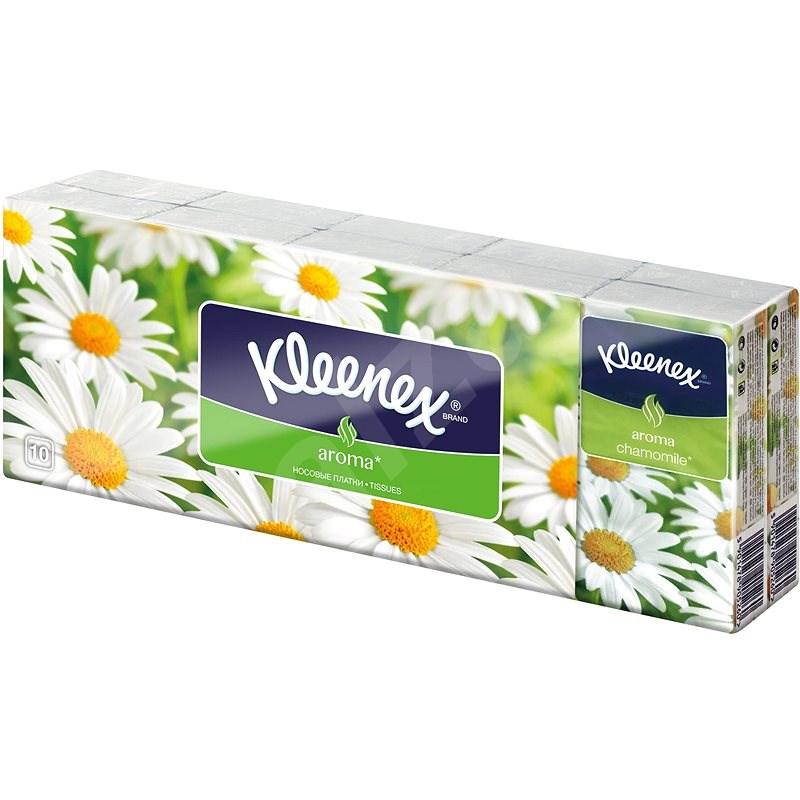 KLEENEX Family - Camomile (10×10 db) - Papírzsebkendő