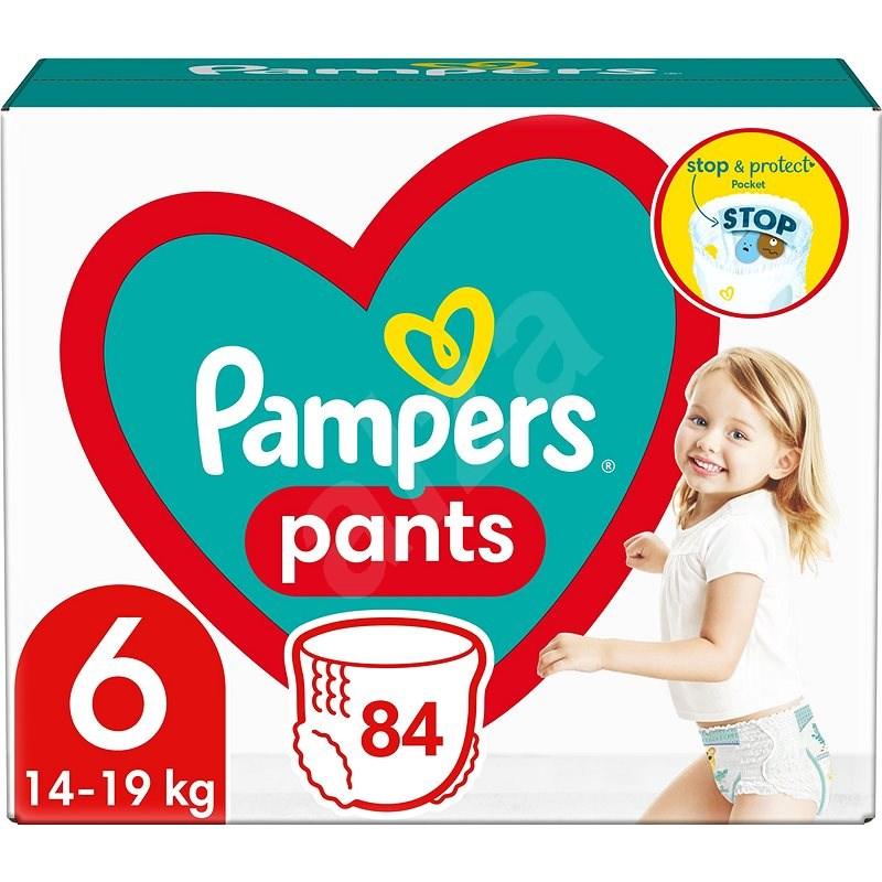 PAMPERS Extra nagy 6-os nadrág (84 db) - Mega Box - Bugyipelenka