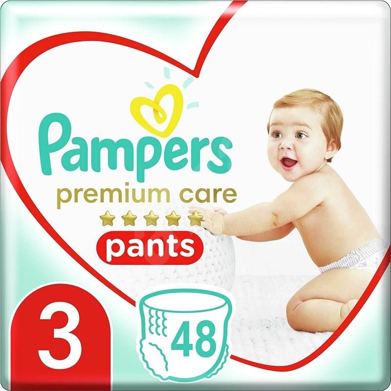 PAMPERS nadrág Premium Care méret 3 (6-11 kg) 48 pce - Bugyipelenka
