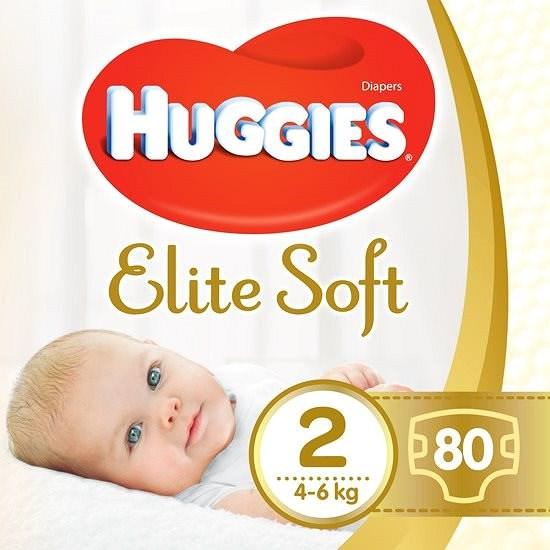 HUGGIES Elite Soft, 2-es méret (80 db) - Pelenka
