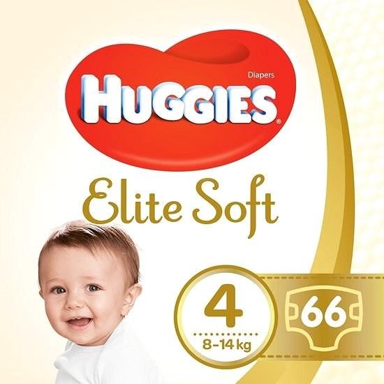 HUGGIES Elite Soft, 4-es méret (66 db) - Pelenka