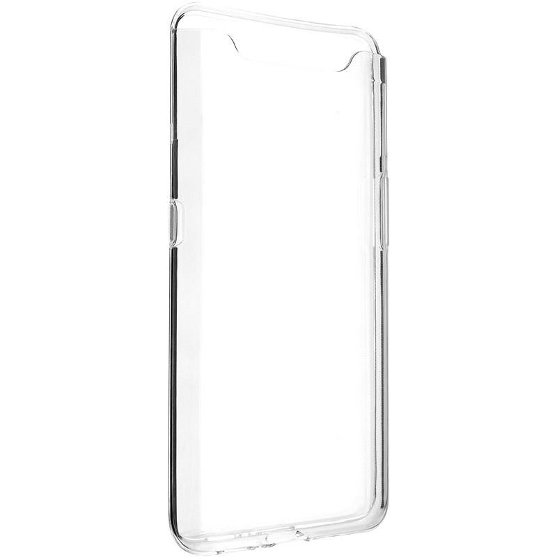 FIXED Skin tok Samsung Galaxy A80 készülékhez, víztiszta - Mobiltelefon hátlap