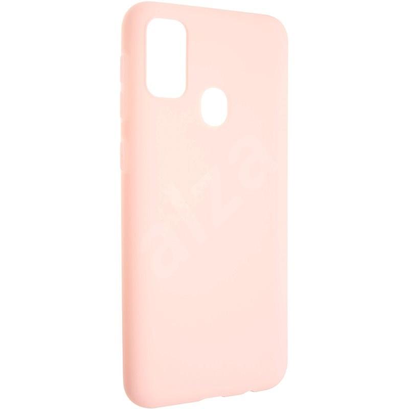 FIXED Story Samsung Galaxy M21 készülékhez, rózsaszín - Telefon hátlap