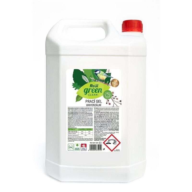 REAL GREEN mosógél 5 l (142 mosás) - Öko-mosógél