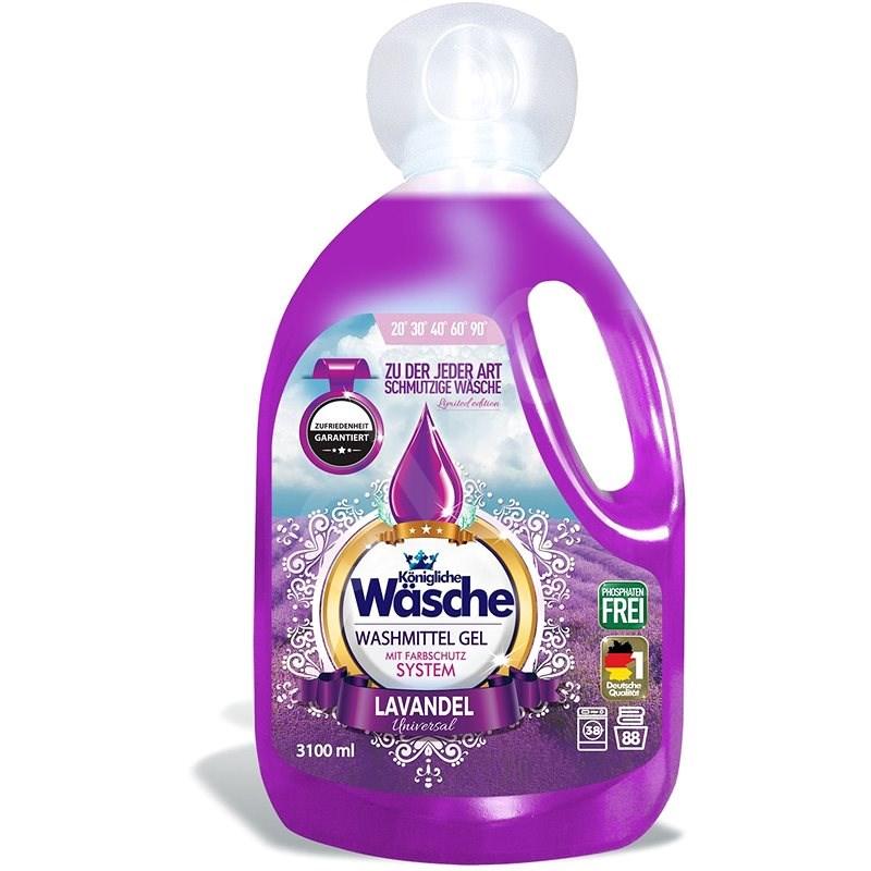KÖNIGLICHE WÄSCHE Lavender 3,1 l (88 mosás) - Mosógél