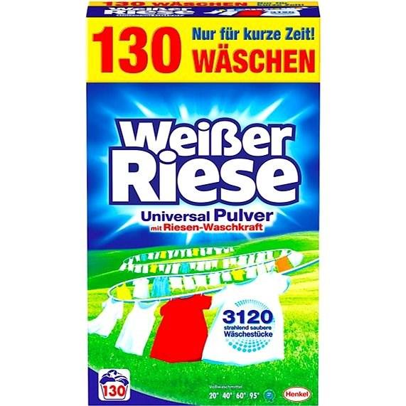 WEISSER RIESE Universal Powder 7,15 kg (130 mosás) - Mosószer