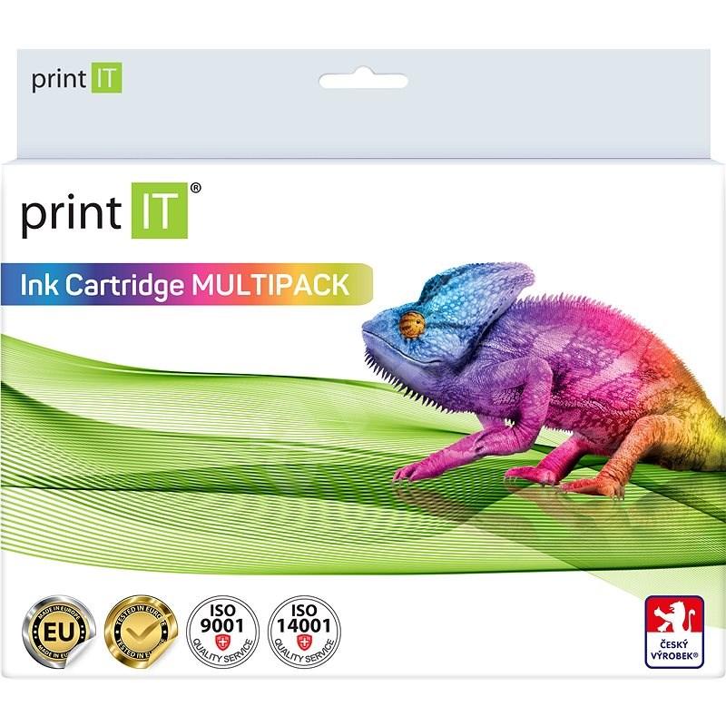 PRINT IT PGI 525 Multipack + CLI-526 3xBk / PBK / C / M / Y Canon nyomtatókhoz - Utángyártott tintapatron