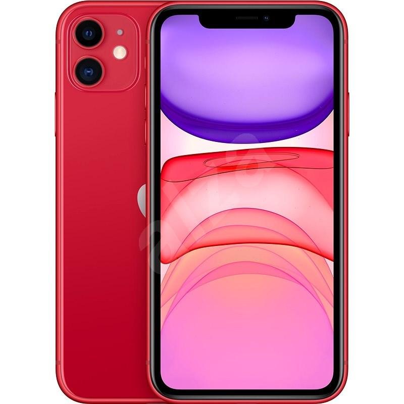 Felújított iPhone 11 64GB piros - Mobiltelefon