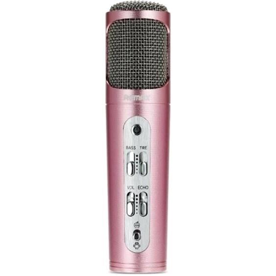 Remax RM-K02 rózsa arany - Mikrofon