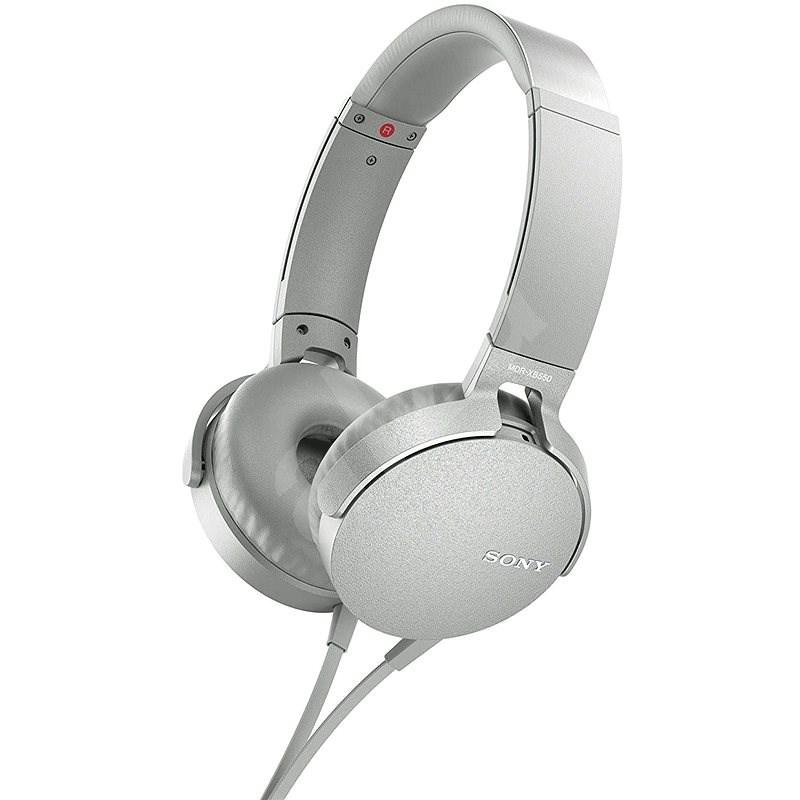 Sony MDR-XB550AP fehér - Fej-/fülhallgató
