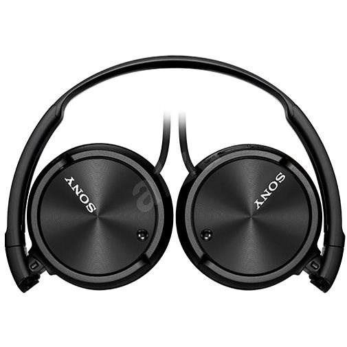 Sony MDR-ZX110NA - fekete - Fej-/fülhallgató
