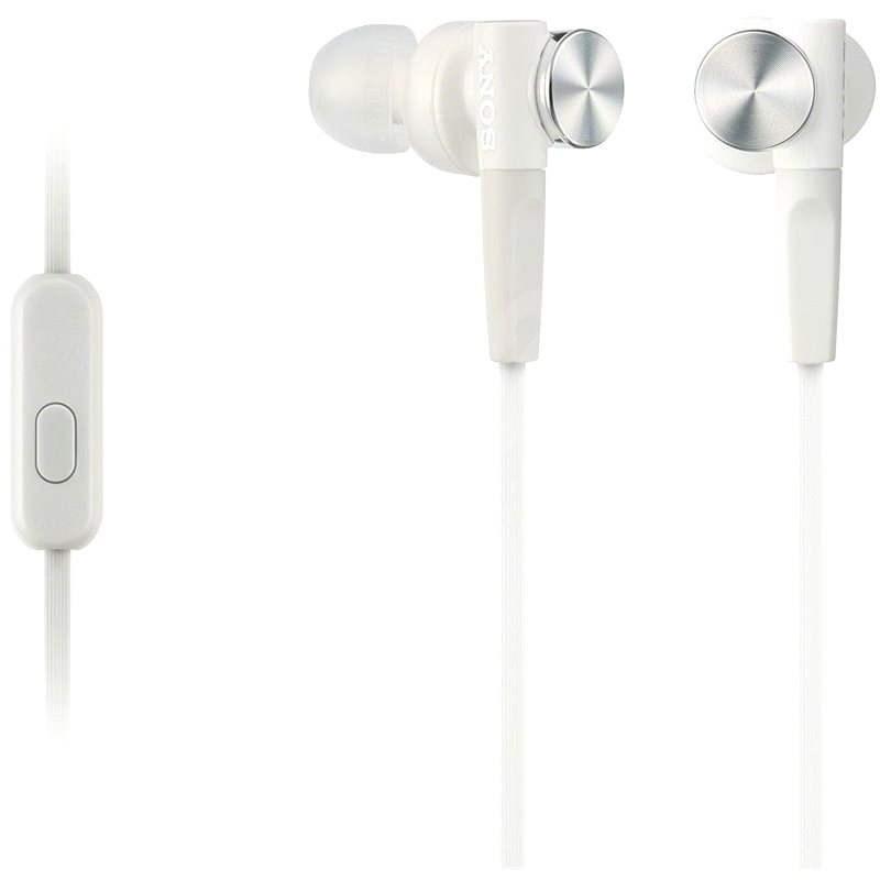 Sony MDR-XB50AP fehér - Fej-/fülhallgató