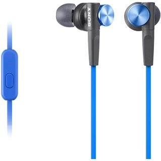 Sony MDR-XB50AP kék - Fej-/fülhallgató