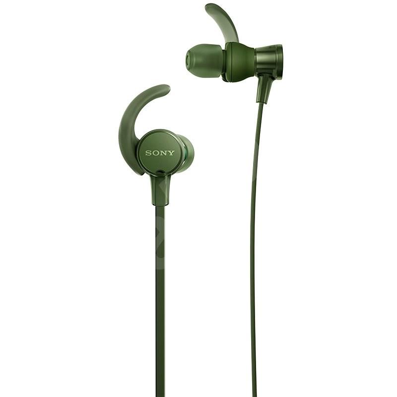 Sony MDR-XB510AS zöld - Fej-/fülhallgató