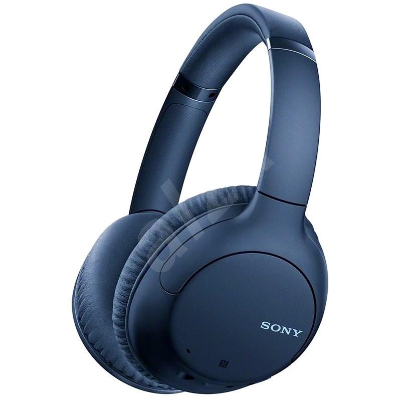Sony WH-CH710N - kék - Vezeték nélküli fül-/fejhallgató
