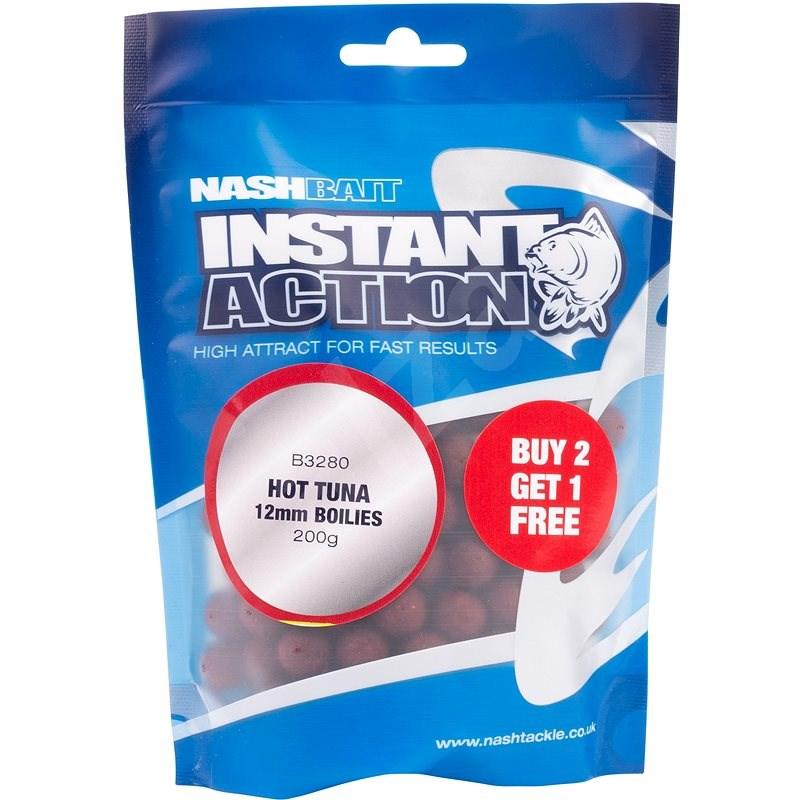 Nash Boilie Instant Action Hot Ton 12 mm 200 g - Bojli