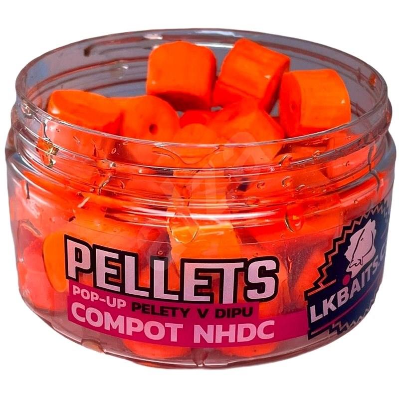 LK Baits POP-UP pellet dipben Compact NHDC 12 mm 40 g - Pelletek