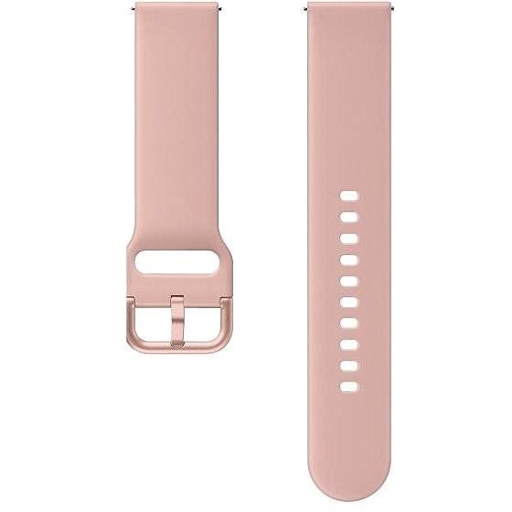 Samsung szíj Galaxy Watch okosórához 20mm - rózsaszín - Szíj