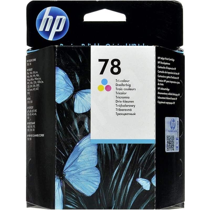 HP C6578D sz. 78 Háromszínű - Tintapatron