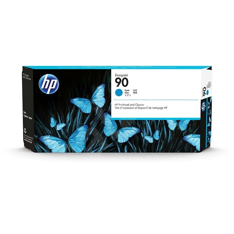 HP C5055A sz. 90 cián - Tintapatron