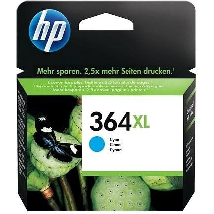 HP CB323EE sz. 3664 cián - Tintapatron