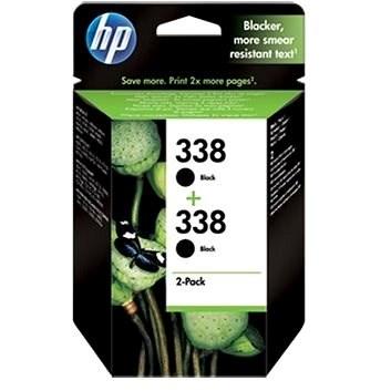 HP CB331EE sz. 338 fekete 2pack - Tintapatron