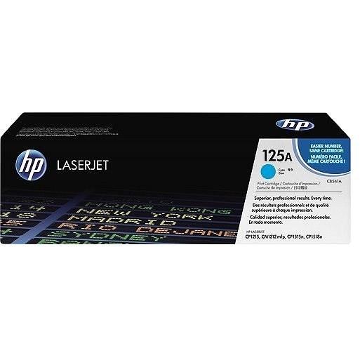 HP CB541A sz. 125A cián - Toner