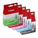 Canon CLI-8 BK / PC / PM / R / G Multi Pack - Tintapatron