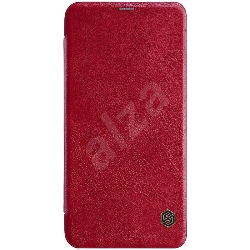 Nillkin Qin Book tok Xiaomi Redmi Note 6 Pro készülékhez piros - Mobiltelefon tok