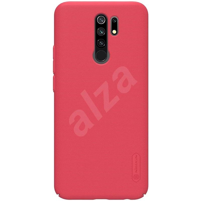 Nillkin Frosted hátlap a Xiaomi Redmi 9 Bright Red készülékhez - Mobiltelefon hátlap